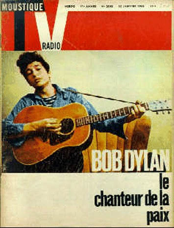 moustique 1966 magazine Bob Dylan cover story