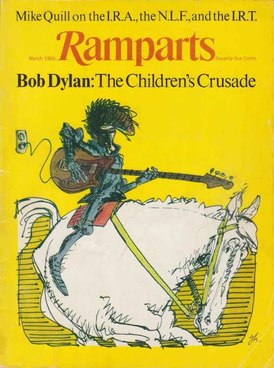 ramparts magazine Bob Dylan cover story
