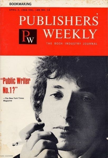 publishers weekly magazine Bob Dylan cover story