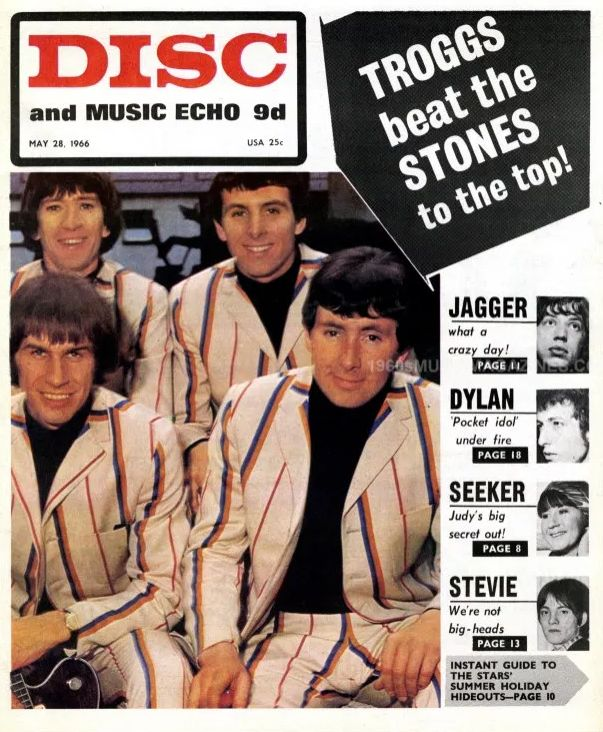 disc and music echo 28 may 1966 magazine Bob Dylan cover story