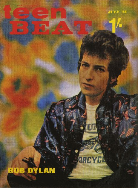 teen beat magazine Bob Dylan cover story