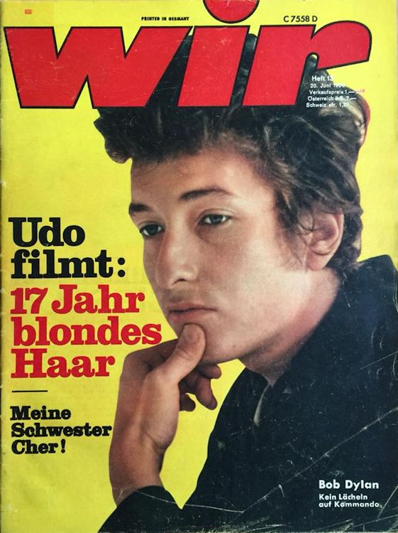wir magazine germany Bob Dylan cover story