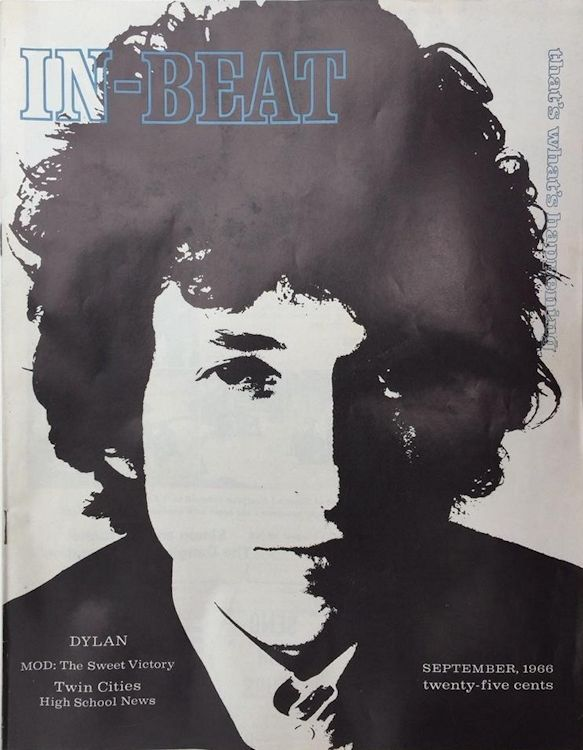 in-beat magazine Bob Dylan cover story