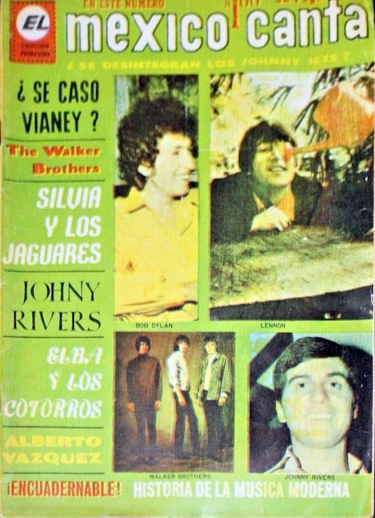 mexico canta magazine 1967 Bob Dylan cover story
