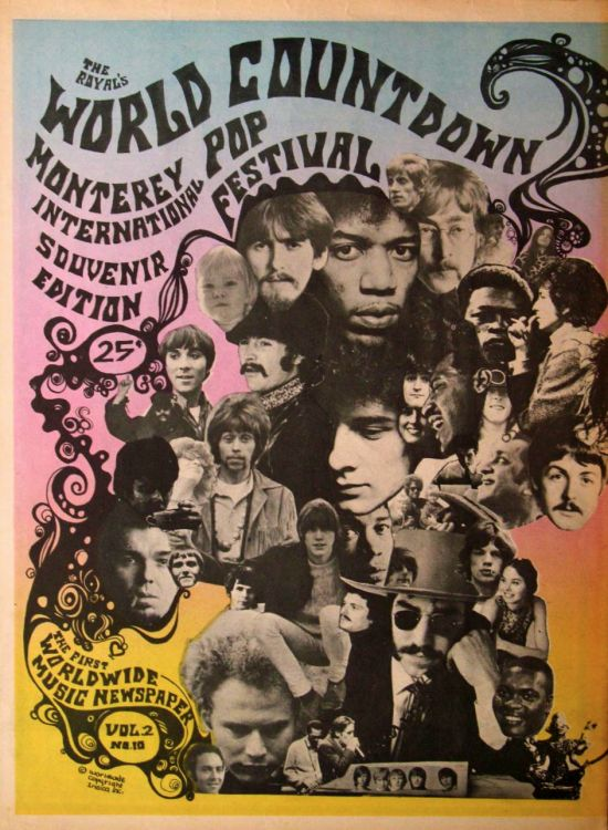 royal world countdown 1970 magazine Bob Dylan cover story