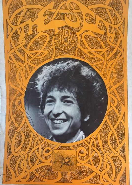 the seed voice of chicago underground magazine Bob Dylan cover story