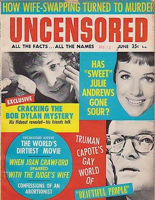 uncensored magazine Bob Dylan cover story