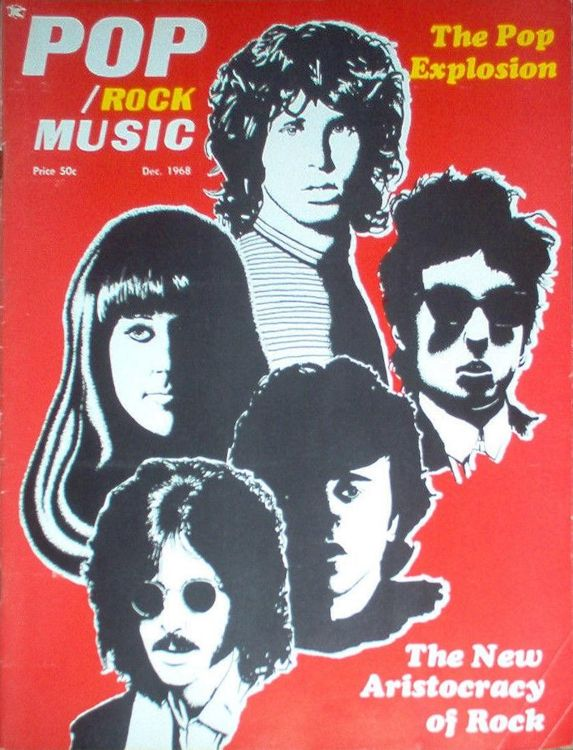 pop rock music magazine Bob Dylan cover story