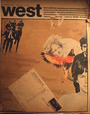 west magazine supplement to Los Angeles Times Bob Dylan cover story