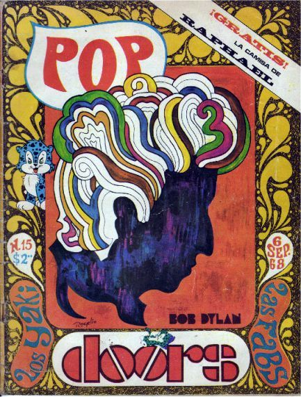 pop mexico magazine Bob Dylan cover story
