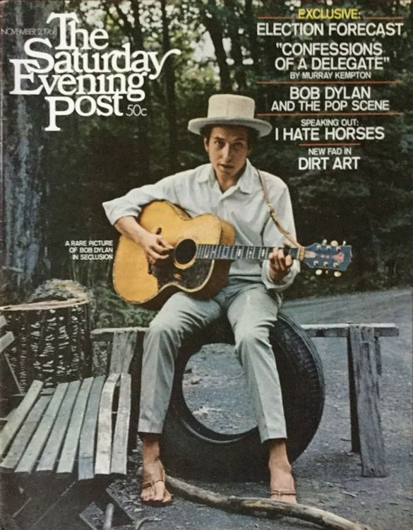 saturday evening post 2 November 1968 magazine Bob Dylan cover story