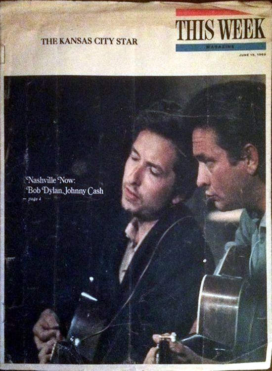 kansas city star magazine Bob Dylan cover story