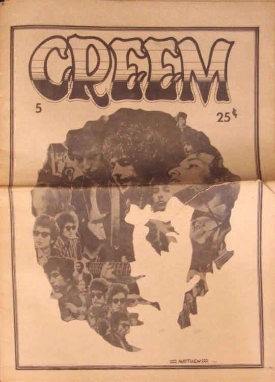 creem magazine 1969 06 Bob Dylan cover story