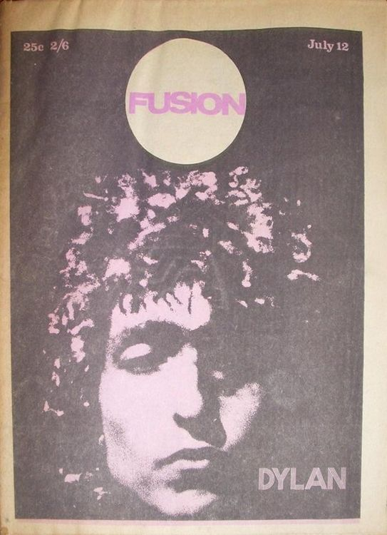 fusion 1969 07 12magazine Bob Dylan cover story
