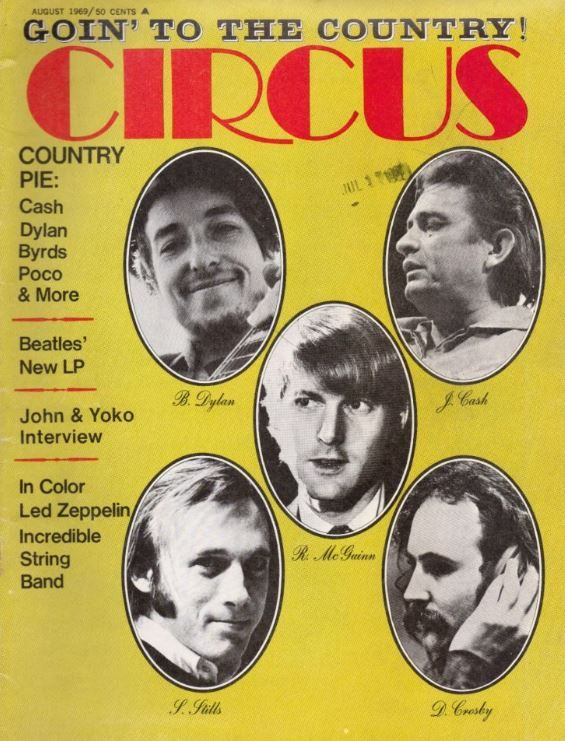 circus 1969 08 magazine Bob Dylan cover story