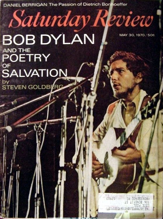 saturday review magazine Bob Dylan cover story