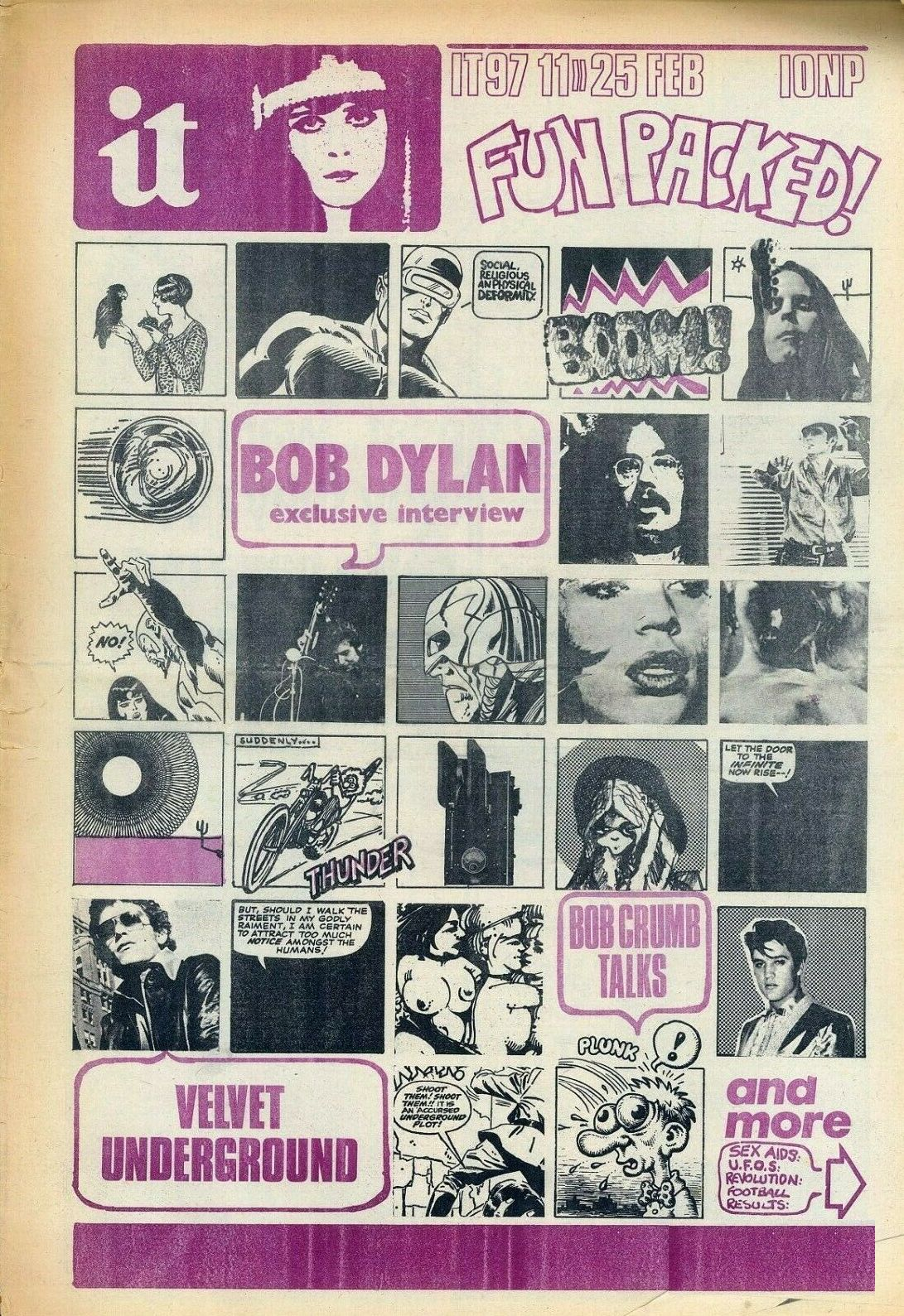 it 1971 02 magazine Bob Dylan cover story