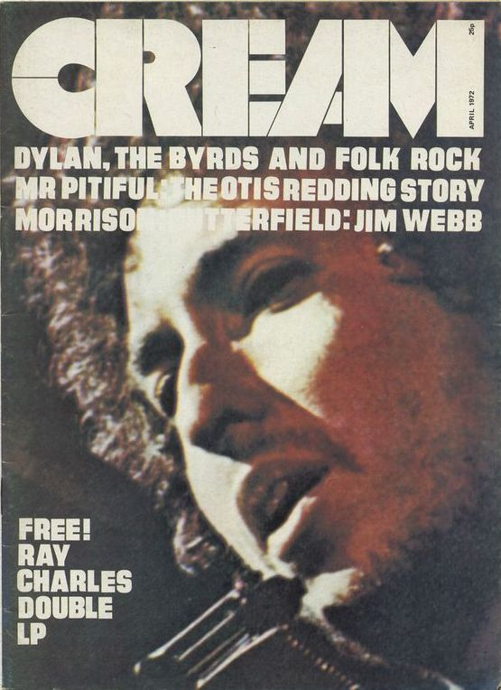 cream 1972 magazine Bob Dylan cover story