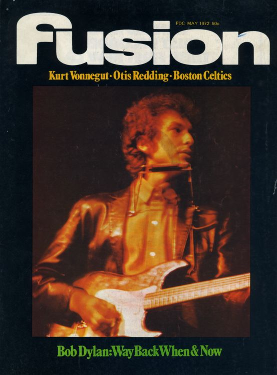fusion 1972 05magazine Bob Dylan cover story