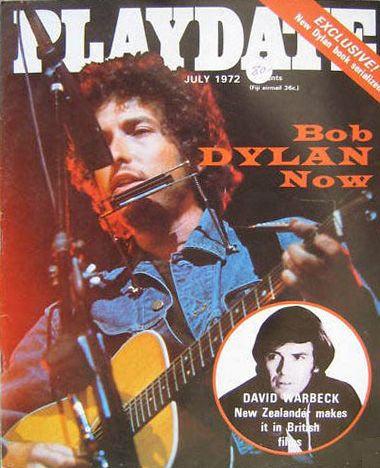 pladate magazine Bob Dylan cover story
