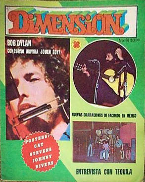 dimension magazine Bob Dylan cover story