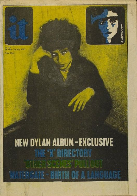 it 1973 magazine Bob Dylan cover story