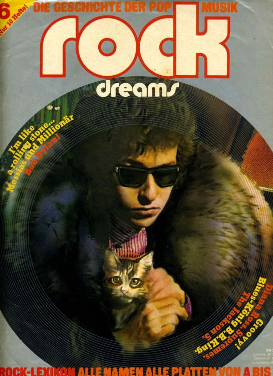 rock dreams magazine Bob Dylan cover story