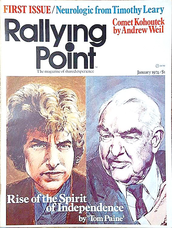 rallying point magazine Bob Dylan cover story