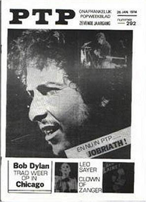 ptp holland magazine Bob Dylan cover story