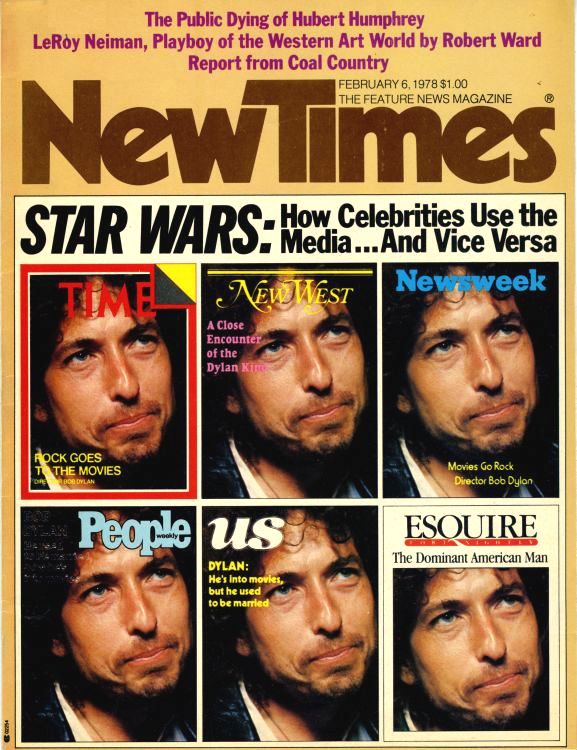 new times 1974 magazine Bob Dylan cover story