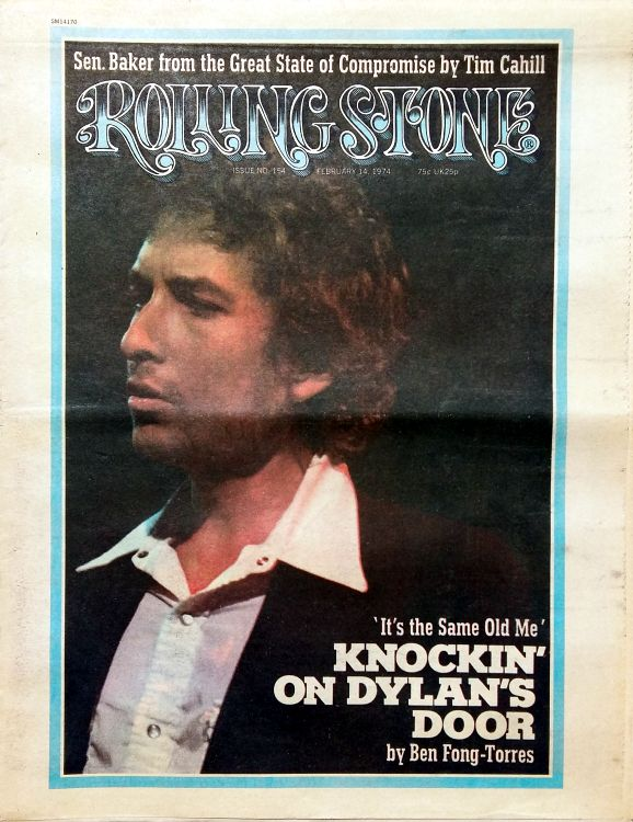 Rolling Stone US #154 magazine Bob Dylan cover story