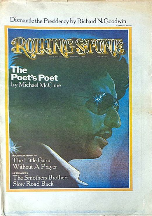 rolling stone magazine australia March 1974 Bob Dylan cover story