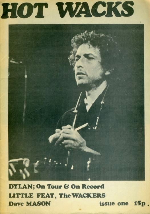 hot wax 1974 magazine Bob Dylan cover story
