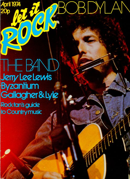 let it rock 1974 04 magazine Bob Dylan cover story