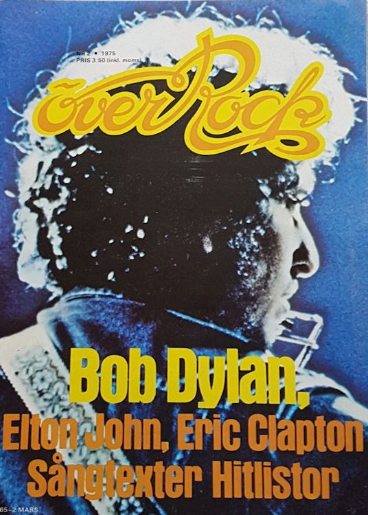 over rock magazine Bob Dylan cover story