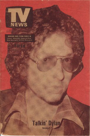 tv news edison nj magazine Bob Dylan cover story
