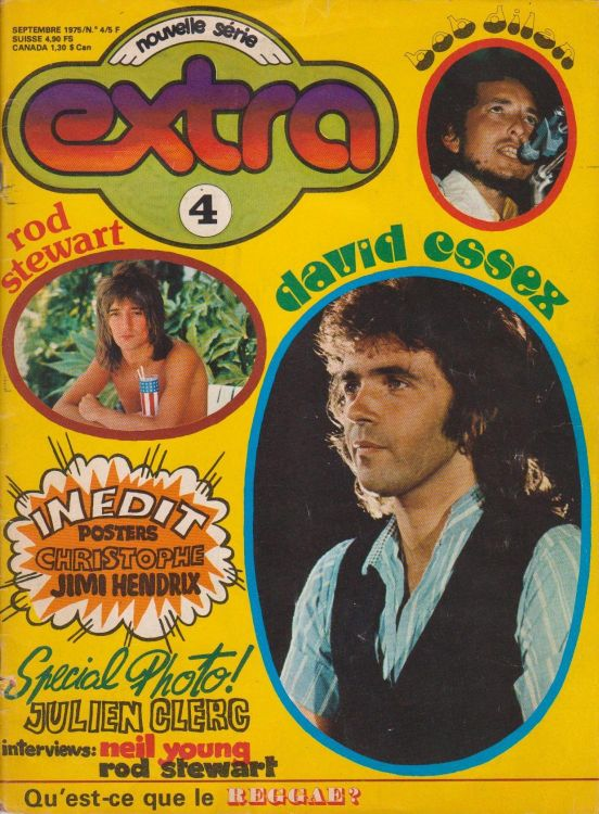 extra magazine 09 1975 Bob Dylan cover story