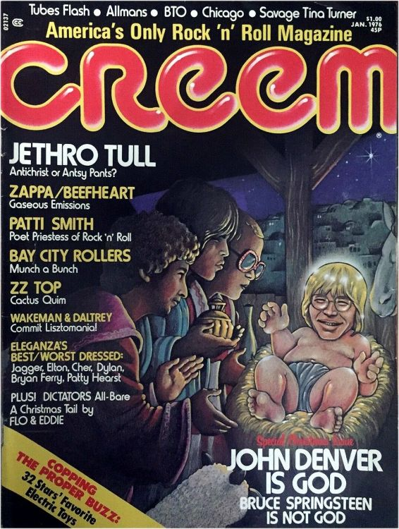 creem magazine 1976 01 Bob Dylan cover story