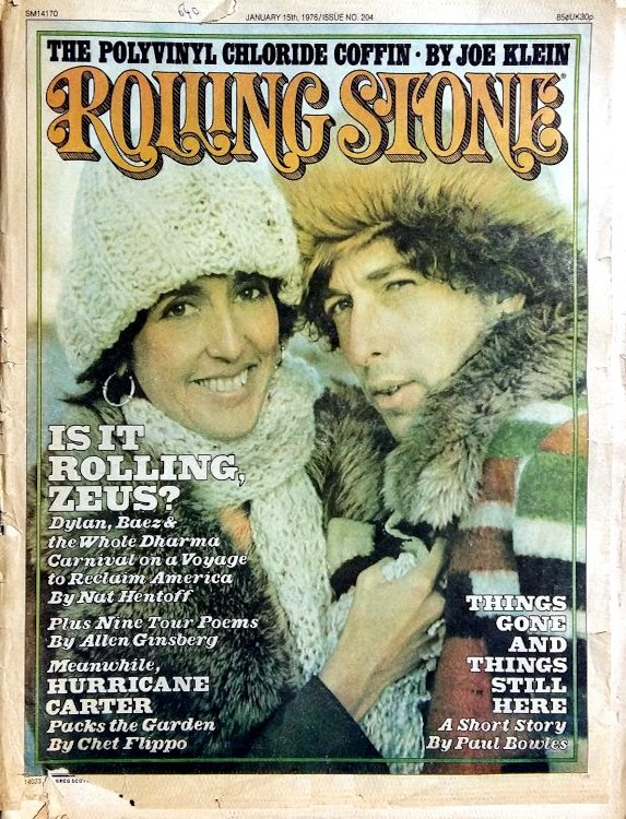 Rolling Stone US #204 magazine Bob Dylan cover story