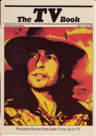 the tv book detroit usa magazine Bob Dylan cover story