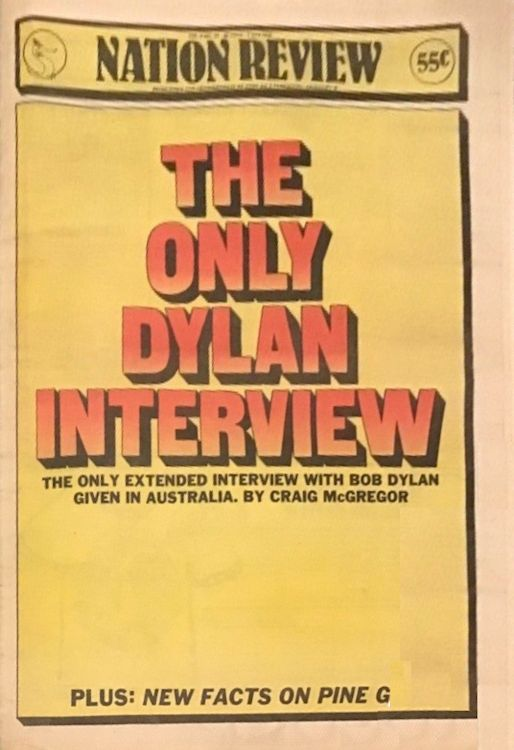 nation review interview australia Bob Dylan cover story