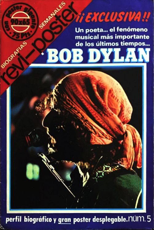 revi-poster magazine Bob Dylan cover story