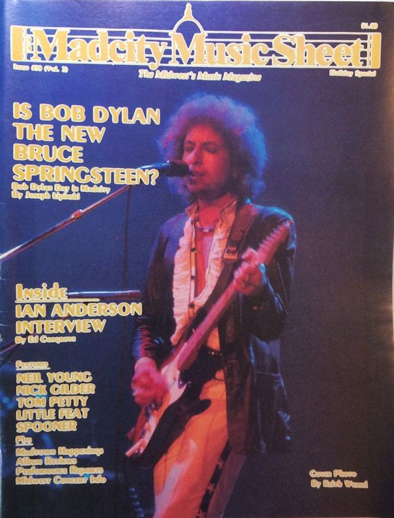 madcity music sheet magazine Bob Dylan cover story