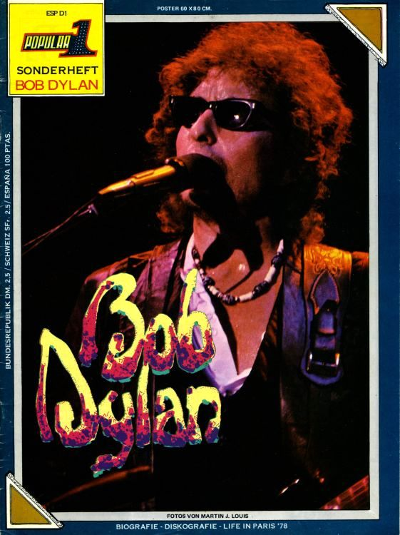 popular 1 germany magazine Bob Dylan cover story