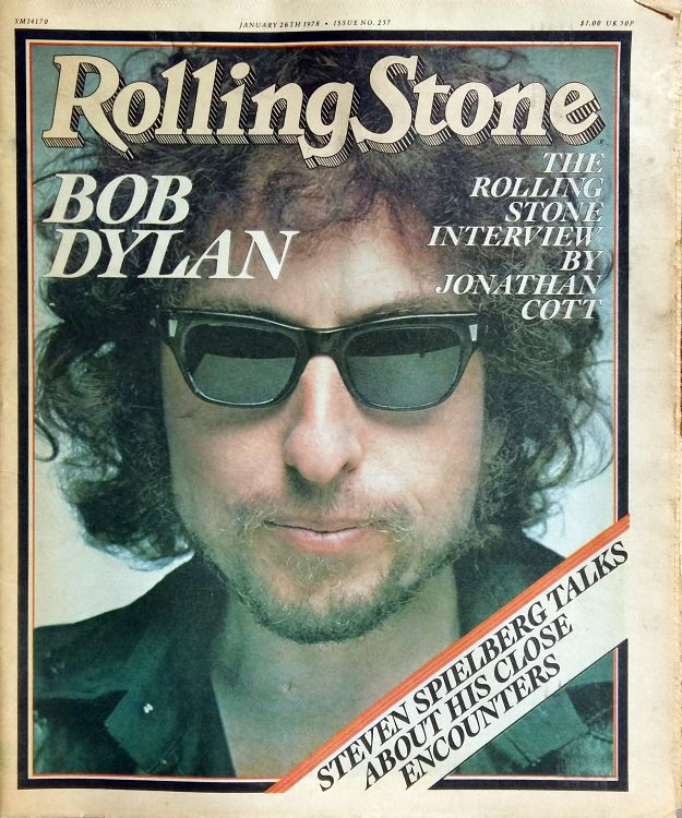 Rolling Stone US magazine #257 Bob Dylan cover story