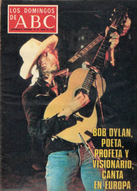 los domingos de abc magazine 6/78 Bob Dylan cover story