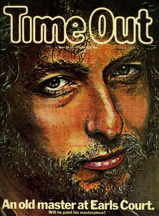 time out in london 1978 magazine Bob Dylan cover story