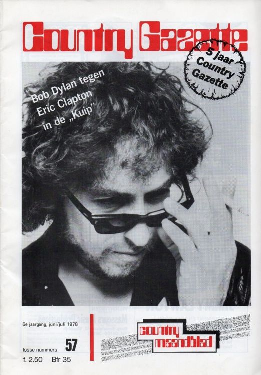 country gazette magazine Bob Dylan cover story