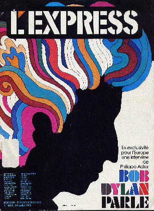 l'express 1978 international magazine Bob Dylan cover story
