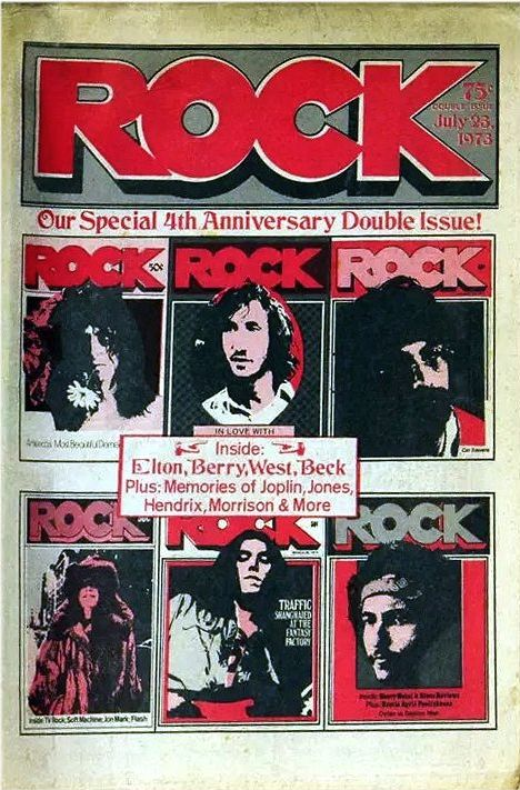 a decade of rock magazine 23 april 1978 Bob Dylan cover story